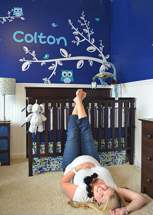 Boy Room Idea Navy Blue Boys Room