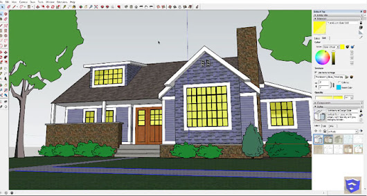 Sketchup Tutorial | Speed Modeling a Traditional House in SketchUp