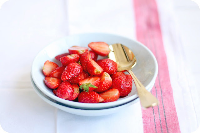 Balsamic Strawberries