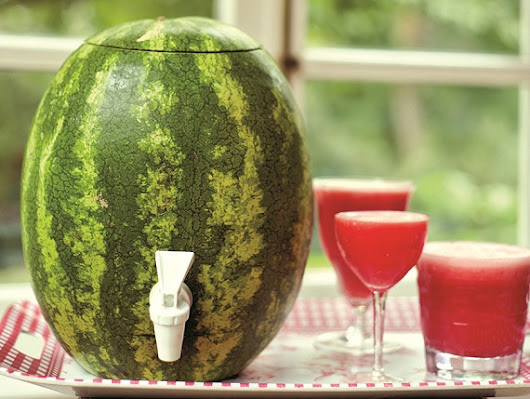 A Creative Way to Consume Cocktails: the Watermelon Keg - DRINKING IN AMERICA