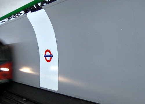 Tottenham Court Road Tube - New cross platform ads