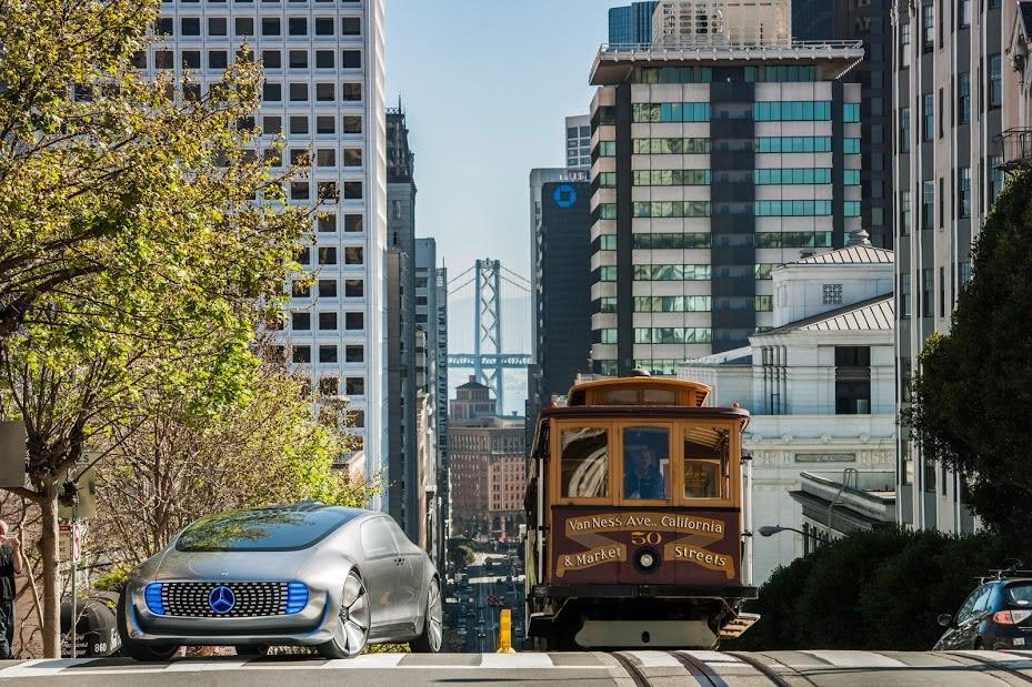 Mercedes-Benz F 015 Luxury in Motion in San Francisco ...
