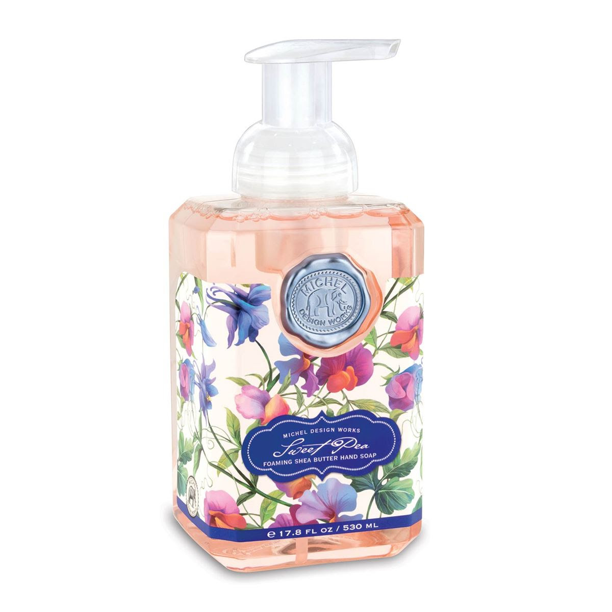 Foaming Hand Soap By Michel Design Works Sweet Pea