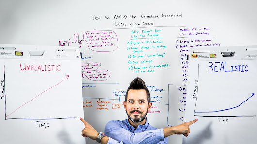 How to Avoid the Unrealistic Expectations SEOs Often Create - Whiteboard Friday