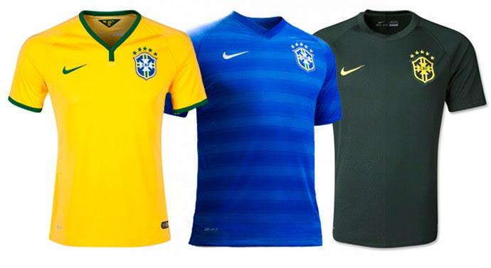 Brasil camisa copa