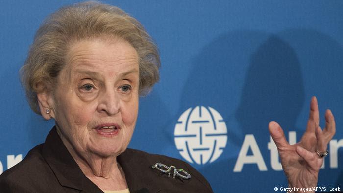 Madeleine Albright Ex-Außenministerin (Getty Images/AFP/S. Loeb)