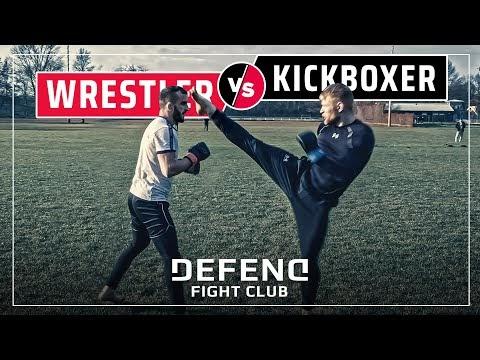 Wrestler vs. Thaiboxer | MMA Streetfight | DEFEND