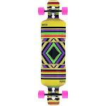"Riviera Skateboards Heta Beta Fish Drop-Through Longboard Complete Skateboard - 9.5"" x 40.5"""