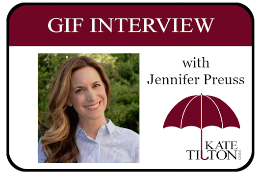 Gif Interview with Author Jennifer Preuss | KateTilton.com