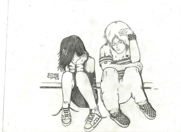 Imagenes De Amor Chidas Para Dibujar De Emos Facil Con Amor