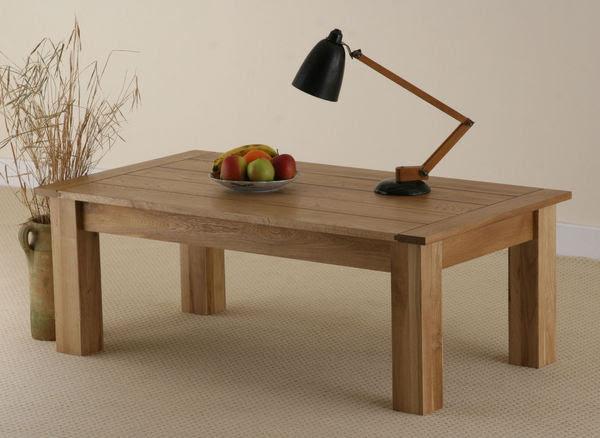 Newark Solid Oak Coffee Table