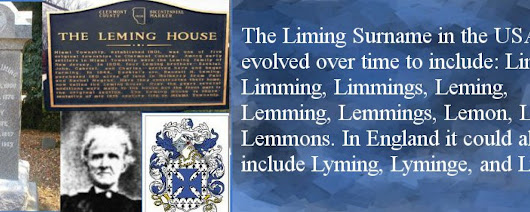 John Liming Society | Seeks To Preserve the History, Genealogy and Artifacts of the Liming Family