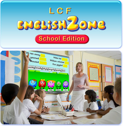 EnglishZone - LCF Clubs -  Online English Resources - Phonics Practice Grammar Pictures - Children Learn English