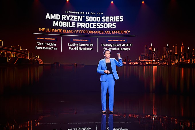 AMD unveils Ryzen 5000 mobile processors