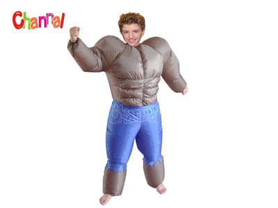 Inflatable Muscle Costume - Channal Inflatables