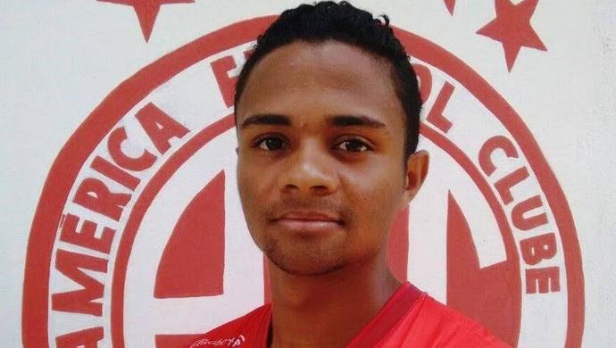 David lateral América-RN (Foto: Canindé Pereira/Divulgação)