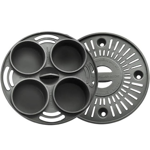 As Seen On Tv Microwave Grill Baking And Steaming Insert Set