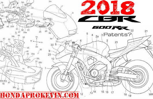 2018 honda 600. beautiful 2018 new 2018 honda cbr 600 rr sneak peek patent documents  pictures filed  s with honda