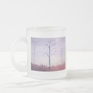 Watercolor Dusk Coffee Mug