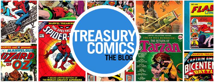 Treasury Comics: The Blog!