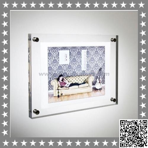 Individual Wall Mounted Acrylic Frame Brings You Infinite Memory