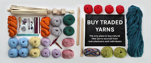 HANK & HOOK: natural fiber knitting yarn & traded stashes.
