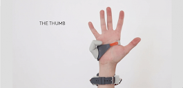 The Third Thumb Project, An Amazing 3D Printed Fully Articulated Digit That Makes Life a Bit Easier