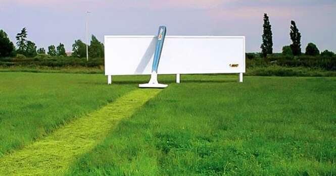 Anúncios publicitários que você vai olhar mais de uma vez