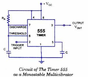 555-timer-monostable-multivibrator