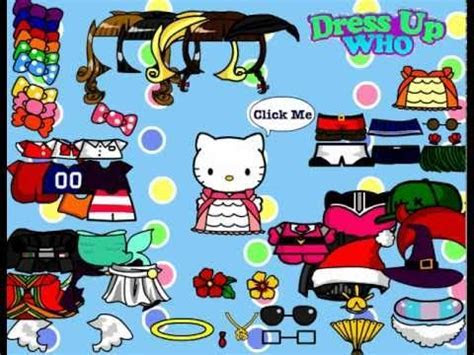 Hello Kitty Dress Up Game   Free Flash Game   YouTube