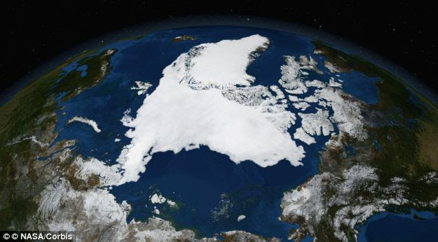 Arctic ice conditions at the end of the melt season produced from sea ice observations collected by the Advanced Microwave Scanning Radiometer