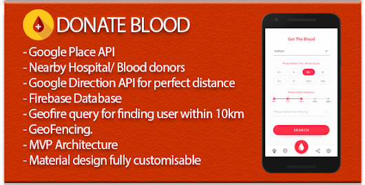 Download Source code Blood Donate (Material Design + Firebase DB+Auth+Social Sharing+Place API) nulled | OXO-NULLED
