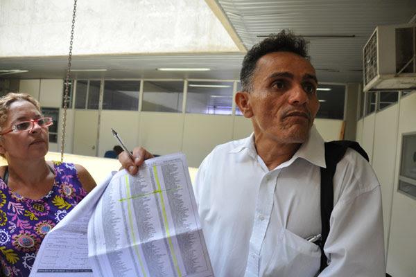 Raimundo Martins, ASG lotado no gabinete da secretária, entrou na lista dos ausentes