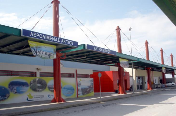 Πρέβεζα: Στο 91,4% η μείωση στο αεροδρόμιο του Ακτίου