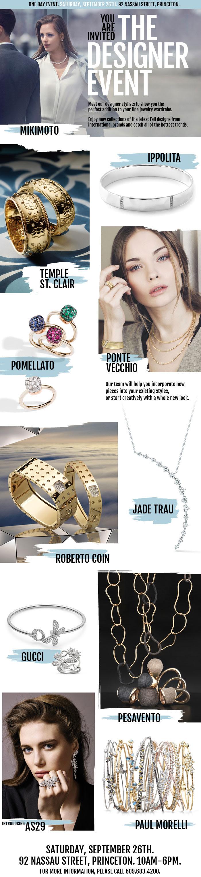 Hamilton Jewelers jewelry designer event