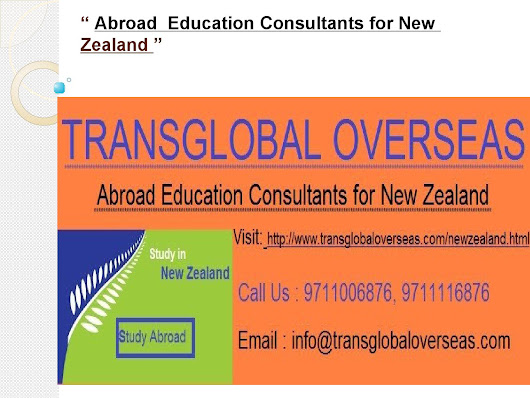 Abroad education consultants for new zealand