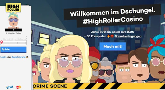 HighRoller Casino Test 2017: 200% Bonus bis zu 100€ plus Free Spins