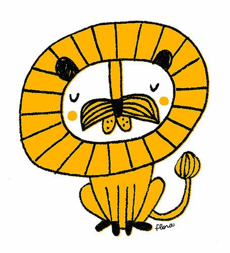 Mustache Lion