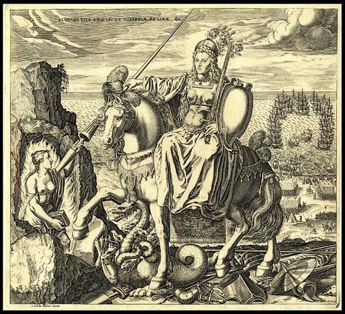 Elizabetha Angliae et Hiberniae Reginae 1625