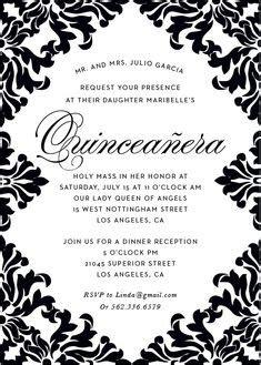 spanish quinceanera invitations precious quince