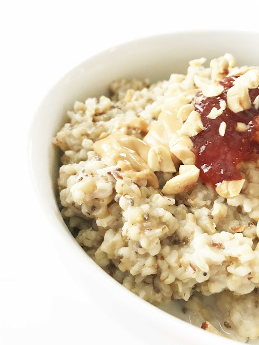 Instant Pot Steel-Cut Oatmeal