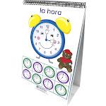 NewPath 2023508 Learning Time Money & Measurement Flip Chart Set - Spanish Language