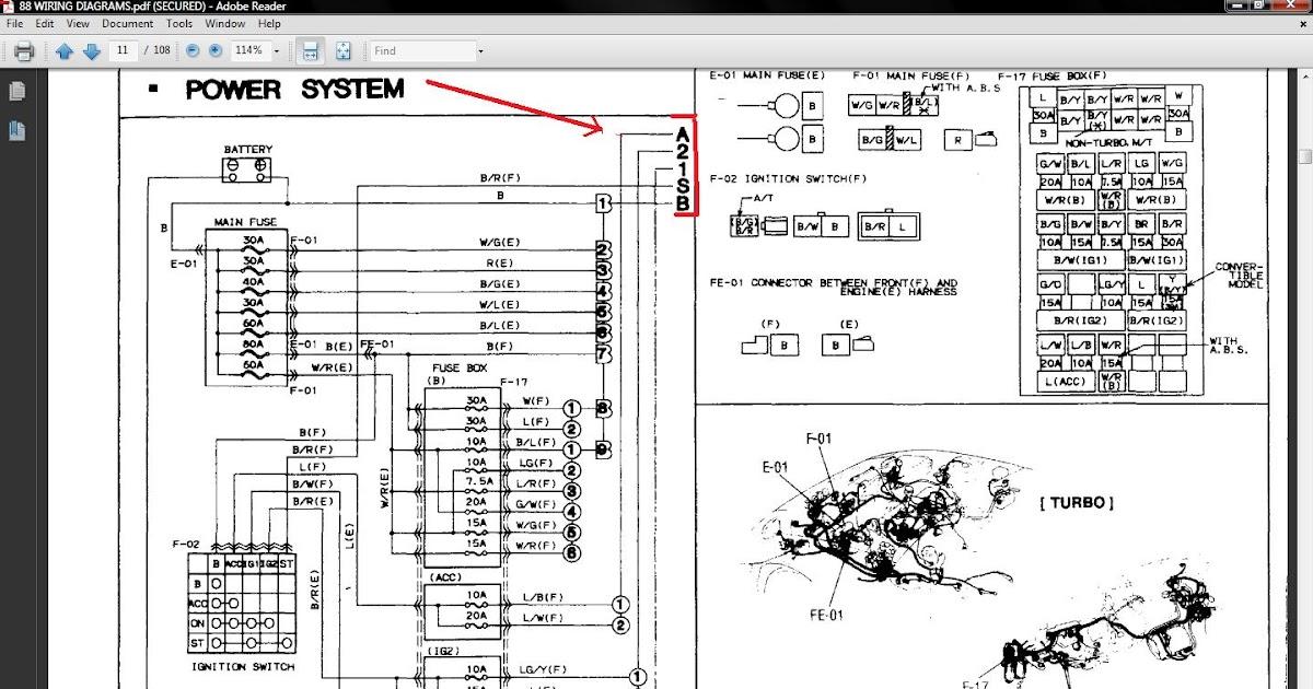 91 Rx7 Wiring Diagram