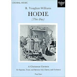 Hodie Vocal score