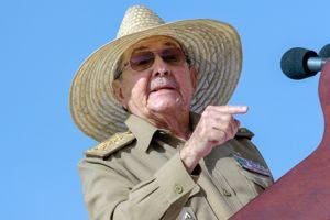 Raul Castro, le 26 juillet 2013