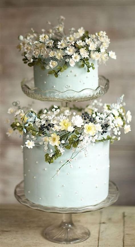 25 Pastel Wedding Cakes For Spring And Summer   Weddingomania