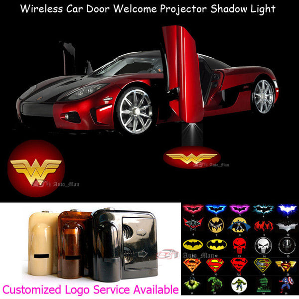 2 Wireless Led Laser Wonder Woman Car Door Light My Swiftly Car
