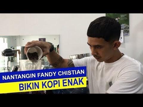 Nantangin Fandy Christian Bikin Kopi