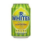 R White, Bev Lemonade Fizzy, 330-ML (24 Pack) By British Food Supplies