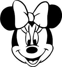 Minnie Mouse Head Silhouette Printable At Getdrawingscom Free For